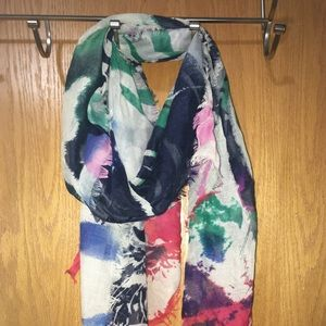 Women's colorful scarf